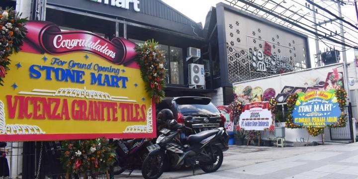 Grand Opening Gerai Stonemart Indonesia